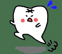 Mr.Tooth! sticker #686091