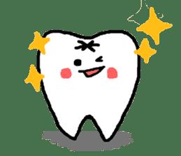 Mr.Tooth! sticker #686092