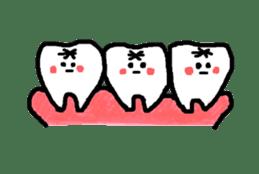 Mr.Tooth! sticker #686098