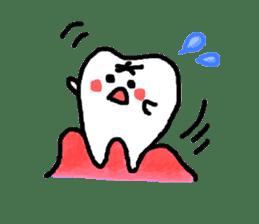 Mr.Tooth! sticker #686099