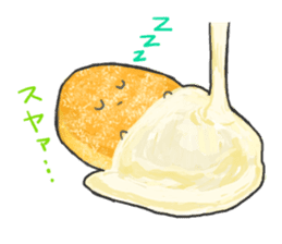 Cute pancakes sticker #686248