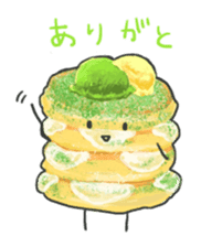 Cute pancakes sticker #686250