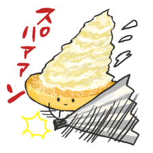 Cute pancakes sticker #686253