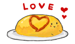 Cute pancakes sticker #686264