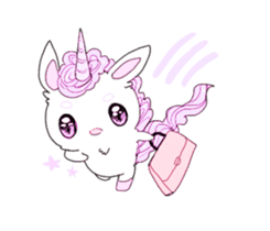 Unicorns & girls sticker #686672