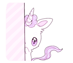 Unicorns & girls sticker #686677