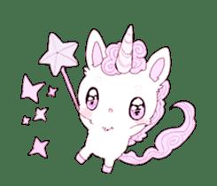 Unicorns & girls sticker #686680