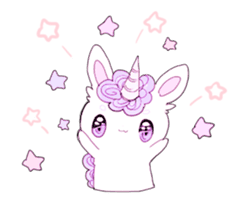 Unicorns & girls sticker #686694