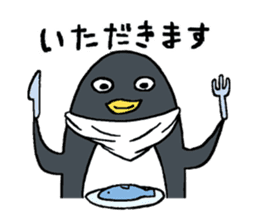 Sticker of penguin inflame sticker #686714