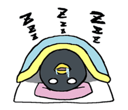 Sticker of penguin inflame sticker #686719