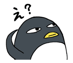 Sticker of penguin inflame sticker #686724