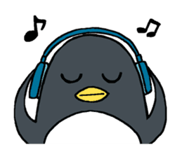 Sticker of penguin inflame sticker #686738