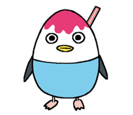 Sticker of penguin inflame sticker #686745