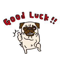 Pug Stickers for Pug Junkies!
