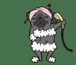 Pug Stickers for Pug Junkies! sticker #686789