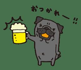 Pug Stickers for Pug Junkies! sticker #686792
