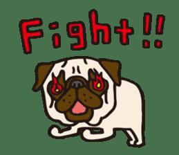 Pug Stickers for Pug Junkies! sticker #686793