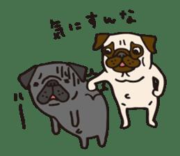 Pug Stickers for Pug Junkies! sticker #686799