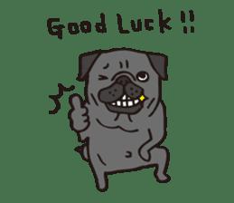 Pug Stickers for Pug Junkies! sticker #686807