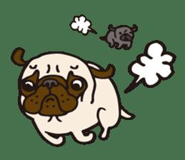 Pug Stickers for Pug Junkies! sticker #686810