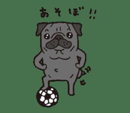 Pug Stickers for Pug Junkies! sticker #686816