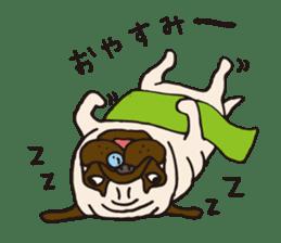 Pug Stickers for Pug Junkies! sticker #686821