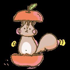 Cawaii-squirrel