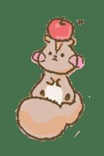 Cawaii-squirrel sticker #687147