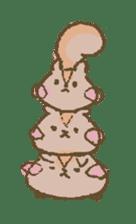 Cawaii-squirrel sticker #687148