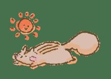 Cawaii-squirrel sticker #687152