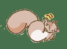 Cawaii-squirrel sticker #687156