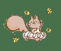 Cawaii-squirrel sticker #687167