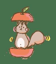 Cawaii-squirrel sticker #687169