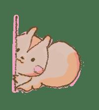 Cawaii-squirrel sticker #687170