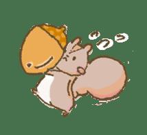 Cawaii-squirrel sticker #687171