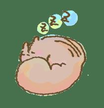 Cawaii-squirrel sticker #687177
