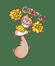 Cawaii-squirrel sticker #687185