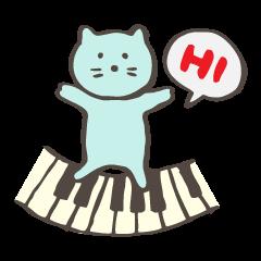 "Pianist Cat ""Nyappi"""