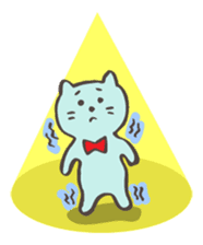 "Pianist Cat ""Nyappi"" sticker #687611"