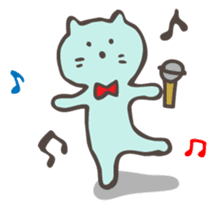 "Pianist Cat ""Nyappi"" sticker #687613"