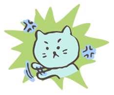 "Pianist Cat ""Nyappi"" sticker #687623"