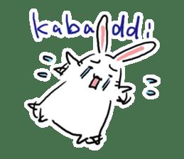 Kabaddi rabbit sticker #687751
