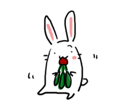 Kabaddi rabbit sticker #687758
