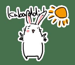 Kabaddi rabbit sticker #687762
