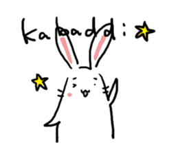 Kabaddi rabbit sticker #687768