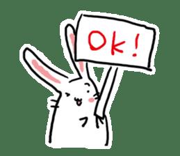 Kabaddi rabbit sticker #687773