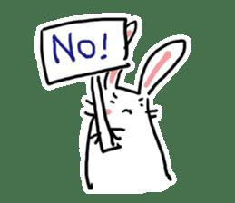 Kabaddi rabbit sticker #687774