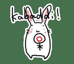 Kabaddi rabbit sticker #687776