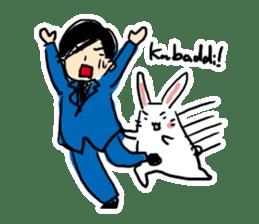 Kabaddi rabbit sticker #687778