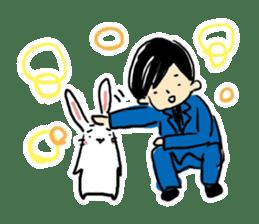 Kabaddi rabbit sticker #687780